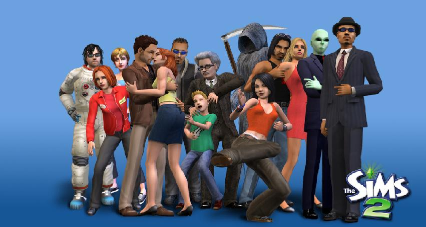 The Sims 2 Fryzury